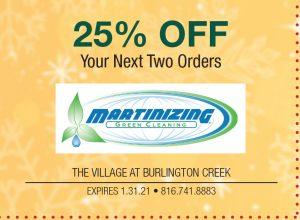 Burlington Creek Martinizing