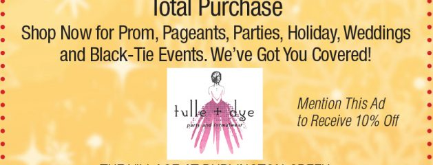 Tulle & Dye – 10% Off Total Purchase